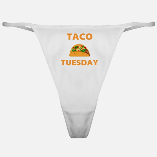 Funny Taco tuesday Classic Thong