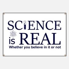 Science is Real Banner