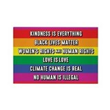 Black lives matter womens rights are human rights Single