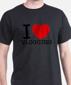 I Love Vlogging T-Shirt