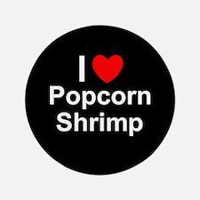 Popcorn Shrimp Button