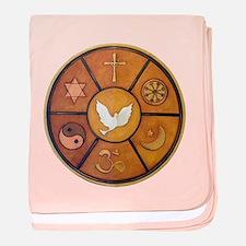 Interfaith Symbol - baby blanket