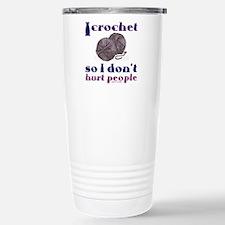 I crochet so I don' Stainless Steel Travel Mug