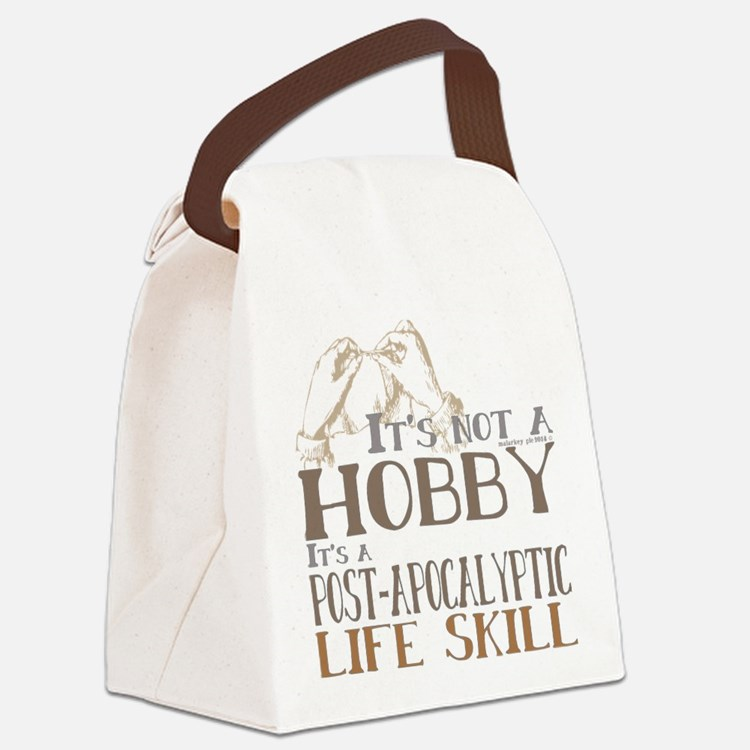 Funny Craft Its not a hobby Canvas Lunch Bag