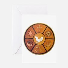 Interfaith Symbol - Greeting Cards (Pk of 20)