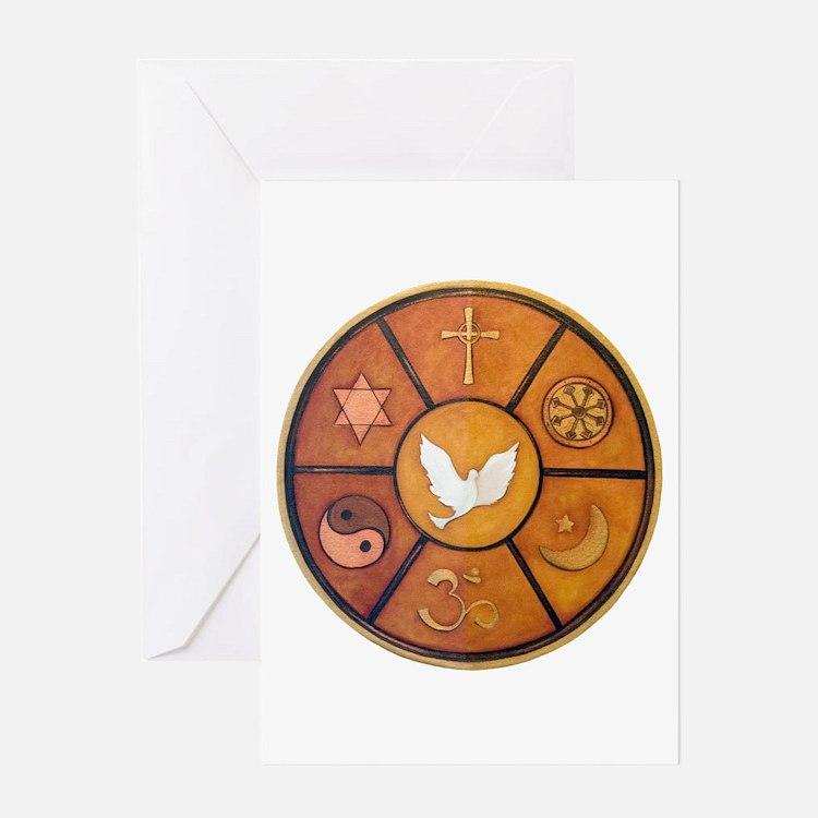 Interfaith Symbol - Greeting Card