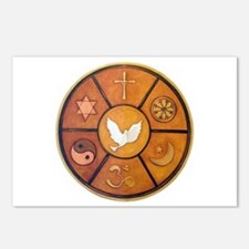 Interfaith Symbol - Postcards (Package of 8)