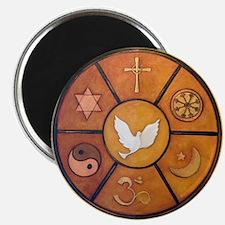 Interfaith Symbol - Magnet