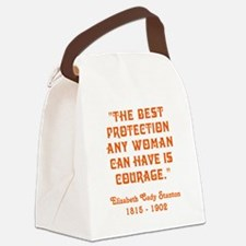 THE BEST PROTECTION... Canvas Lunch Bag