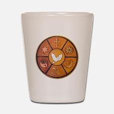 Interfaith Symbol - Shot Glass