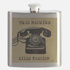 This Machine Kills Facism Flask