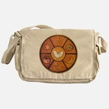 Interfaith Symbol - Messenger Bag