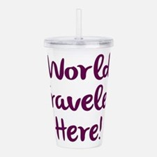 World Traveler Acrylic Double-wall Tumbler