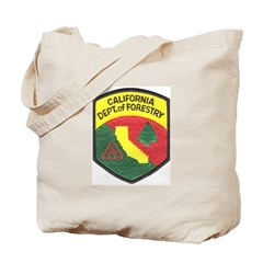 California Forestry Tote Bag