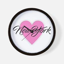 I Heart New York Wall Clock