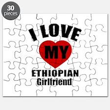I Love My Ethiopian Girlfriend Puzzle