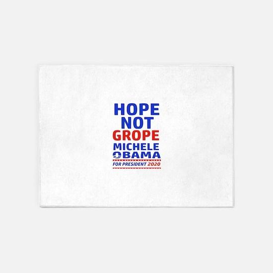Michelle Obama 2020 designs 5'x7'Area Rug