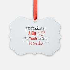 Funny Kindergarten teacher Ornament