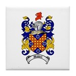 Waddell Coat of Arms Tile Coaster