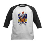 Waddell Coat of Arms Kids Baseball Jersey