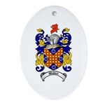 Waddell Coat of Arms Oval Ornament