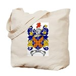 Waddell Coat of Arms Tote Bag