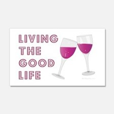 LIVING THE GOOD LIFE Wall Decal
