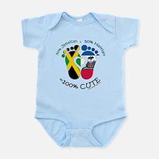 Jamaican Haitian Baby Body Suit