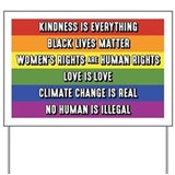 Human rights Yard Signs