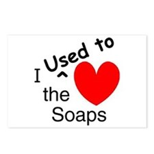 EXSOAPS Postcards (Package of 8)