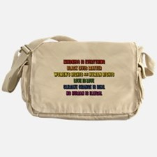 The Truth Messenger Bag