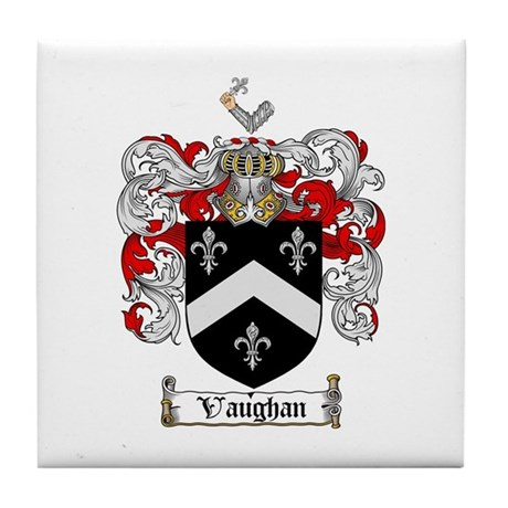 Vaughan Coat of Arms Tile Coaster