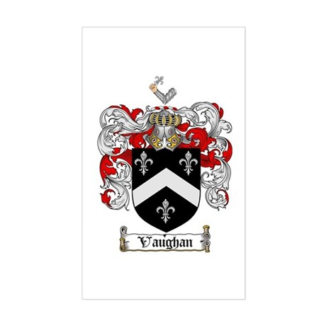 Vaughan Coat of Arms Rectangle Sticker