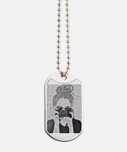Cute Smiling sun Dog Tags