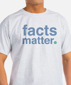 Facts Matter Organic Men's T-Shirt (dark) T-Sh
