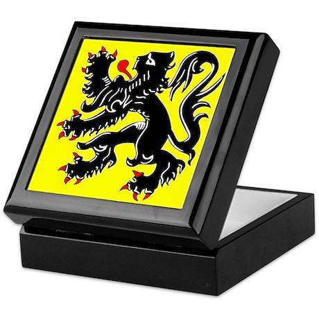 Lion of Flanders Keepsake Box