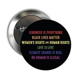 Black lives matter womens rights are human rights 100 Pack