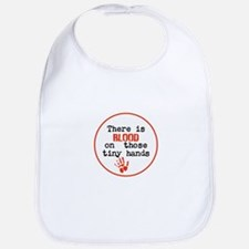 Blood is on trump's tiny hands, stop Baby Bib