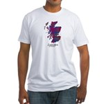 Map - Lumsden of Kintore Fitted T-Shirt