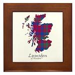 Map - Lumsden of Kintore Framed Tile