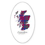 Map - Lumsden of Kintore Sticker (Oval 10 pk)
