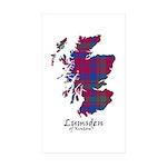 Map - Lumsden of Kintore Sticker (Rectangle 10 pk)