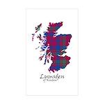 Map - Lumsden of Kintore Sticker (Rectangle 50 pk)