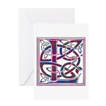 Monogram - Lumsden of Kintore Greeting Card