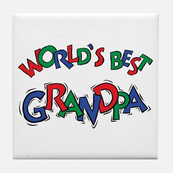 Grandpa Tile Coaster