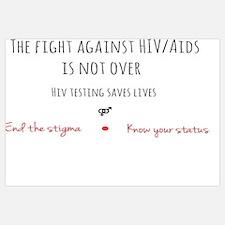 Funny Hiv aids awareness Wall Art