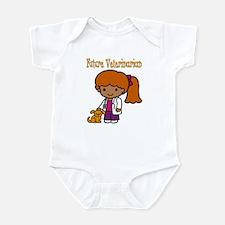 cute future vet Infant Bodysuit