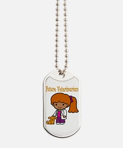 cute future vet Dog Tags