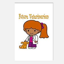 cute future vet Postcards (Package of 8)