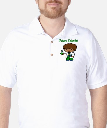 cute future scientist Golf Shirt